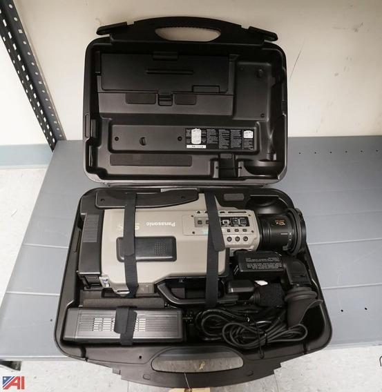 Camera Filmadora Pamansonic Ag 456 Svhs/vhs - Funcionando
