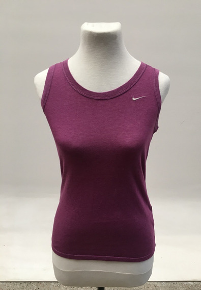 Musculosa Nk Sport Stank Violeta Mujer Talle S