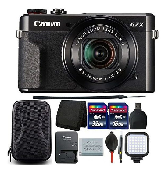 Camara Canon G7x Mark Ii Powershot 20.1mp Digital Black 6926
