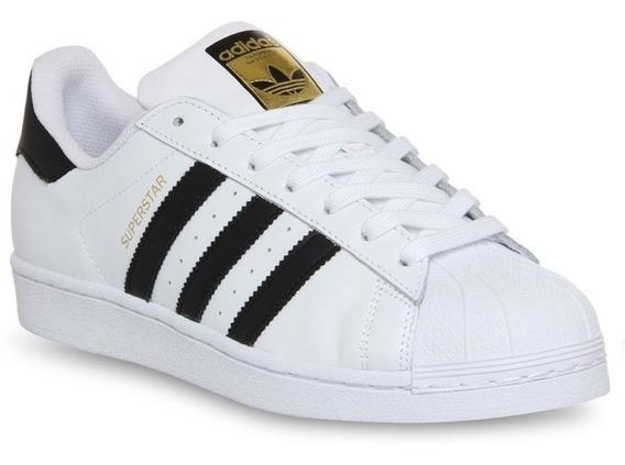 Zapatillas adidas Superstar Blancas Dama Entrega Ya!!