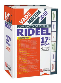 Vade Mecum Compacto Rideel - 17ª Ed 1ª Semestre 2019