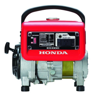 Grupo Electrogeno Generador Honda Eg1000 4 T 1,6 Hp
