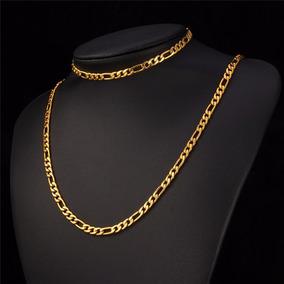 Cordão De Ouro 18k Fígaro 71cm Masculino Frete Grátis
