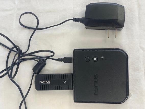 Nyrius Aries Prime Wireless Video Transmissor Receptor Hdmi