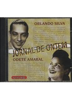 Orlando Silva & Odete Amaral - Jornal De Ontem