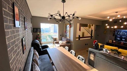 Apartamento Com 3 Dormitórios (1suíte) À Venda, 83 M² Por R$ 490.000 - Vila Bocaina - Mauá/sp - Ap1070