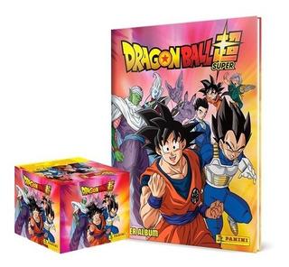 Álbum Tapa Dura Dragon Ball Super Panini + 50 Sobres + Envío