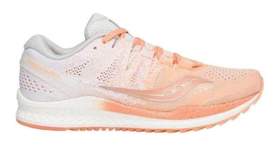 Tenis Running Saucony Freedom Iso 2 Peach Dama - Run24