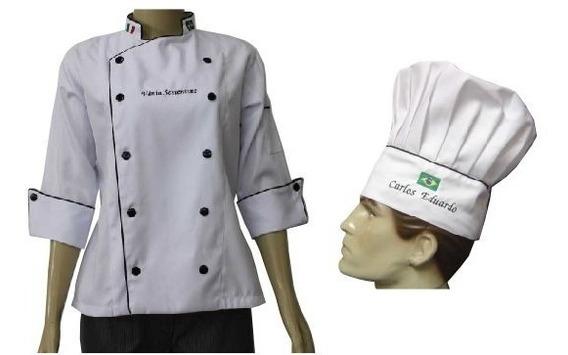 Kit Doma Chef Personalizado Cozinheiro Postagem Em 7 Dias