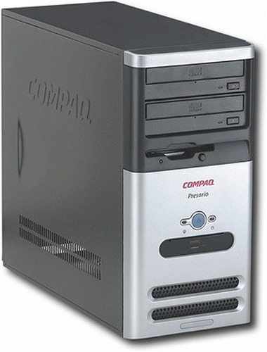 Torre Cpu Compaq Presario | Intel Dual Core (sin Disco Duro)