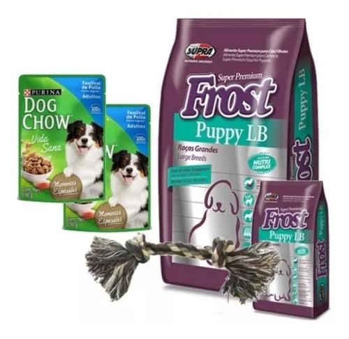 Frost Puppy Cachorro Lb Raza Grande 17kg + Reg Elec + Envio