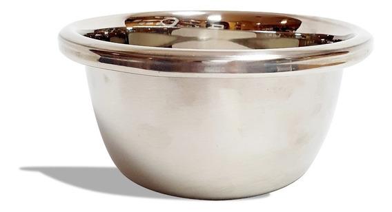 Bowl De Acero Inoxidable Reforzador Batir Reposteria Grande