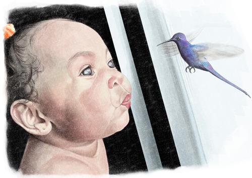 Imagem 1 de 3 de Retrato Artístico Digital