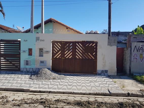 Casa Nova Com Edicula Em Mongaguá!! Ref