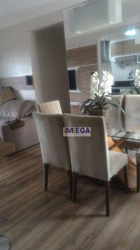 Imagem 1 de 30 de Apartamento Com 3 Dormitórios À Venda, 82 M² Por R$ 499.000 - Vila Ipê - Campinas/sp - Ap5098