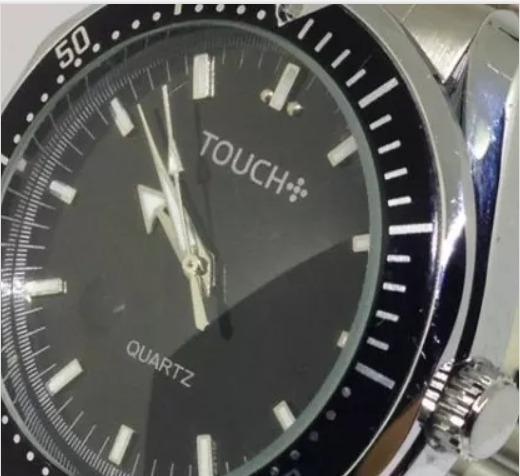 Relógio De Pulso Masculino Touch T05208a Quartz Webclock