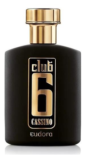 Club 6 Cassino Masculino 95 Ml - Deo-colônia Eudora