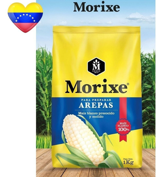 Harina Para Arepas Morixe De Maiz 1 Kilo Empanadas