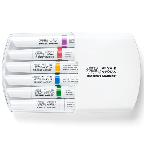 Imagem 1 de 2 de Pigment Marker Winsor & Newton Tons De Ricos
