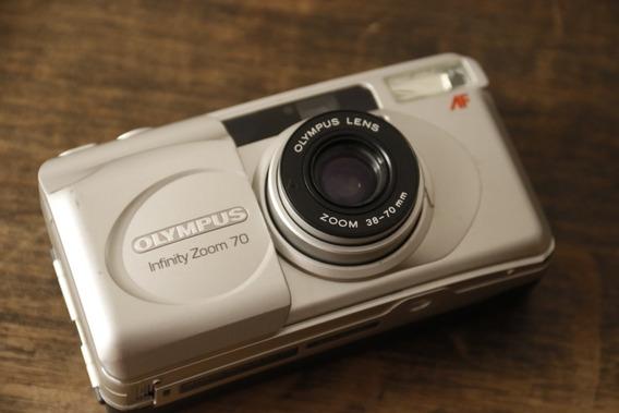 Olympus Infinity Zoom 70 - Câmera Analógica