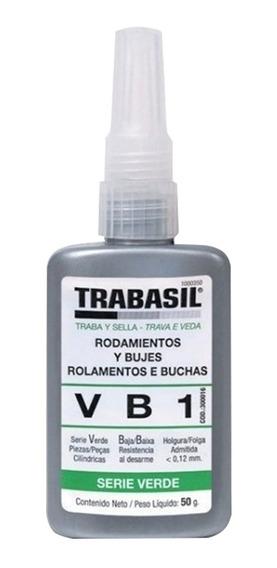Adhesivo Pegamento Trabasil Vb1 Rodamientos Y Bujes X 50grs