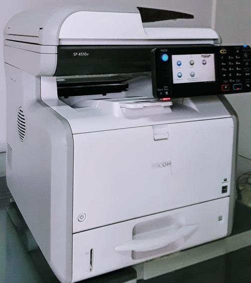 Impressora Multifuncional Ricoh Sp4510f, Com Baixa Impressão
