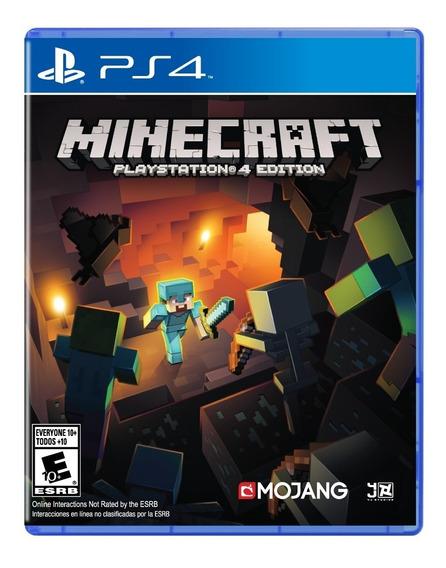 Juego Playstation 4 Minecraft Ps4