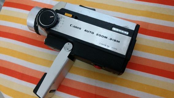 Filmadora Super 8 Mm Canon Auto Zoom 318 M