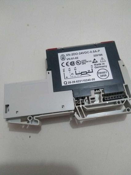Eaton Moeller Xn-2do-24vdc-0.5a-p Com Base Xn-s3t-sbc