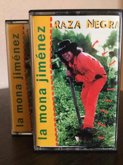 La Mona Jiménez Raza Negra Cassette Nuevo
