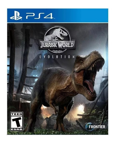 Jurassic World Evolution Ps4 Jogo Mídia Digital Original