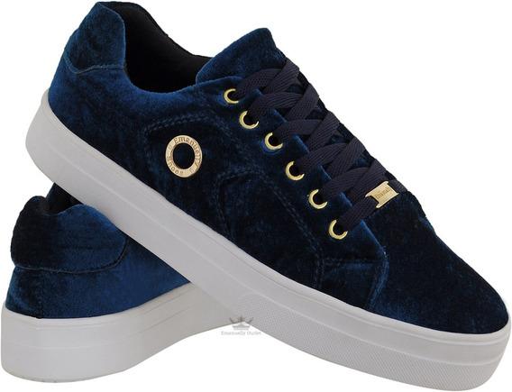Tênis De Academia Fitness Veludo Estiloso Emanuelly Shoes