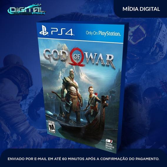 God Of War Ps4 Psn Em Português Original 1