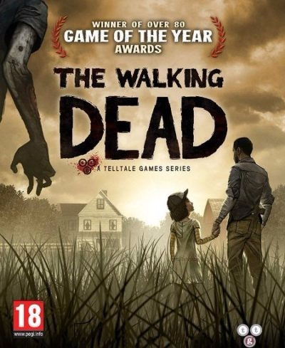 The Walking Dead Season 1 E 2 Pc (midia Física)