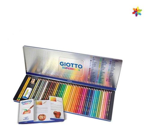 Lapiz Giotto Supermina Estuche 50 Elementos Barrio Norte