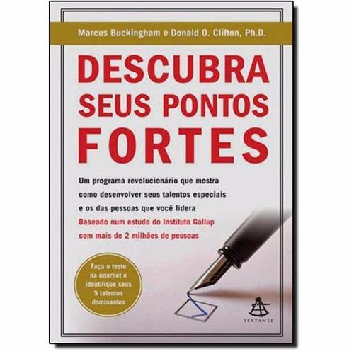 Descubra Seus Pontos Fortes Novo 2008 Marcus Buckingha Mercado Livre