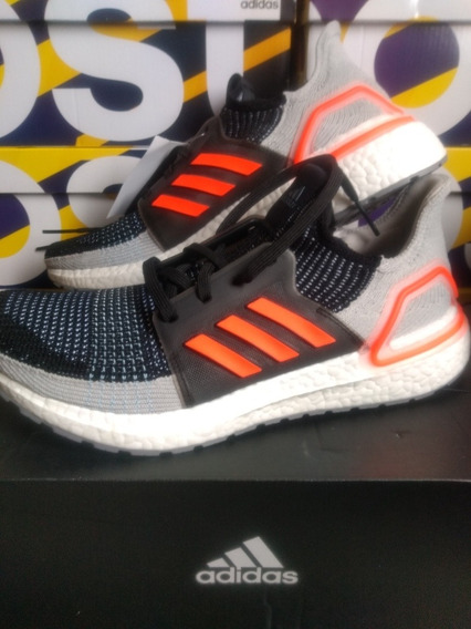 Tênis adidas Ultraboost 19 M Solar Orange 41 12x/sem Juros!!