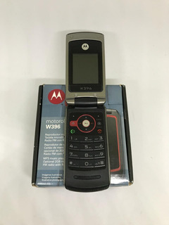 Motorola W396 - Só Funciona Tim, Radio Fm Mp3 Camera - Usado
