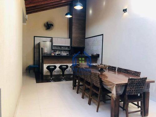Casa Com 2 Dormitórios À Venda, 150 M² Por R$ 380.000,00 - Residencial Das Américas - São José Do Rio Preto/sp - Ca2410