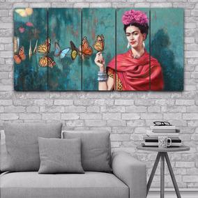 Cuadros Modernos Con Flores Y Mariposas