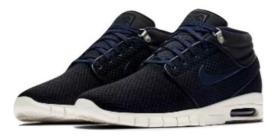 Zapatillas Hombre Nike Sb Janoski Max Mid Air Azul Urbanas Talles 39 Y 40 / 7 Y 8 Us