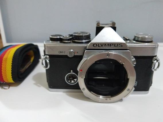 Câmera Olympus Om-2 Analógica