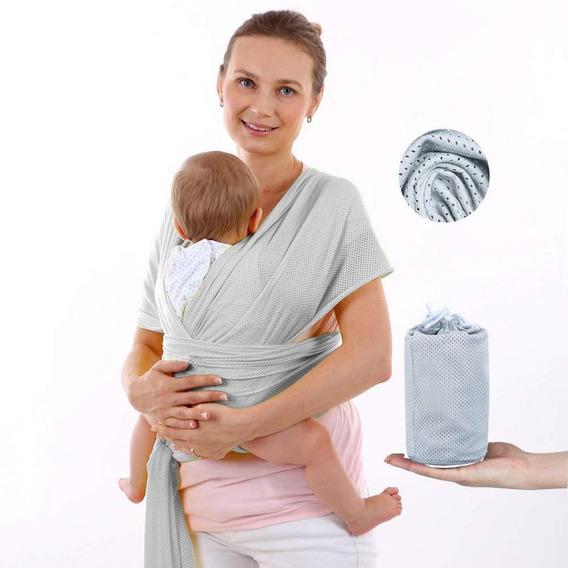 Fular Rebozo Para Bebe Elàstico, Sin Costuras, Portabebes