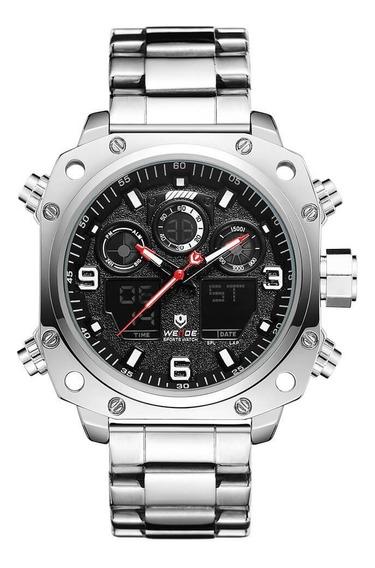 Autentico Reloj Weide Wh7303 Con Estuche Y Envío Gratis.