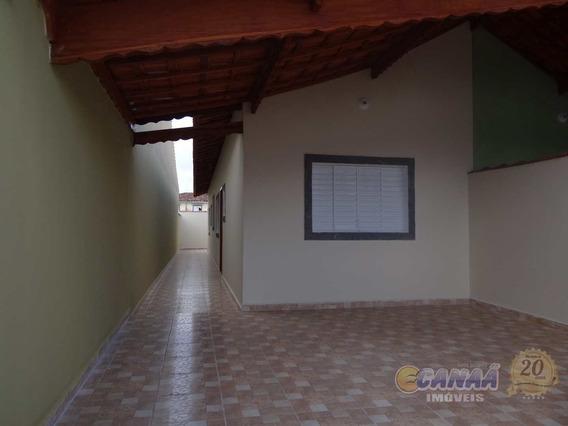 Casa Com 3 Dorms Pedreira Mongaguá R$289 Mil Cod: 7183