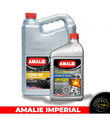 Distribuidora De Aceite Amalie Kendall Top 1 Mobil Torke