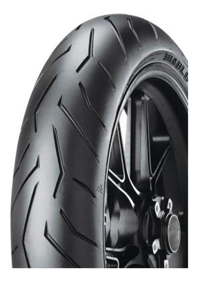 Pneu 100/80-17 Yamaha Xtz 125x, Fazer 250 Pirelli Rosso Ii