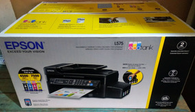 Impressora Epson L575 Ecotankwifi Fax Scaner Copiadora Bivol