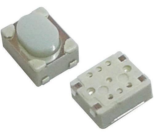 10 Unids Chave Tactil Smd G68 2 Terminais 4.5 X 3.4 X 2.5mm