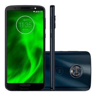 Smartphone Moto G6 Play - 32gb + Suporte P/ Carro E Nota